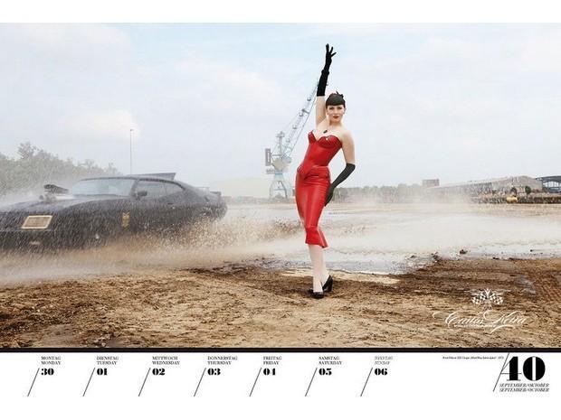 10 эротических календарей на 2013 год. Изображение № 76.
