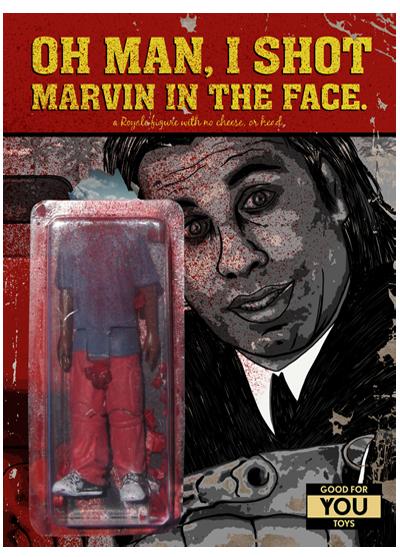 Компания Good for You Toys выпустила фигурку безголового Марвина из «Криминального чтива» . Изображение № 1.