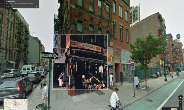 The Guardian наложила обложки альбомов на фотографии мест, где они были сняты. Изображение № 5.