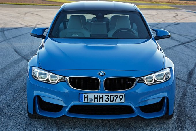 BMW представила новый седан M3 и купе M4. Изображение № 7.