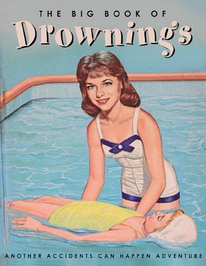 Иллюстратор Боб Стэйк создал пародии на обложки старых детских книжек   . Изображение № 18.