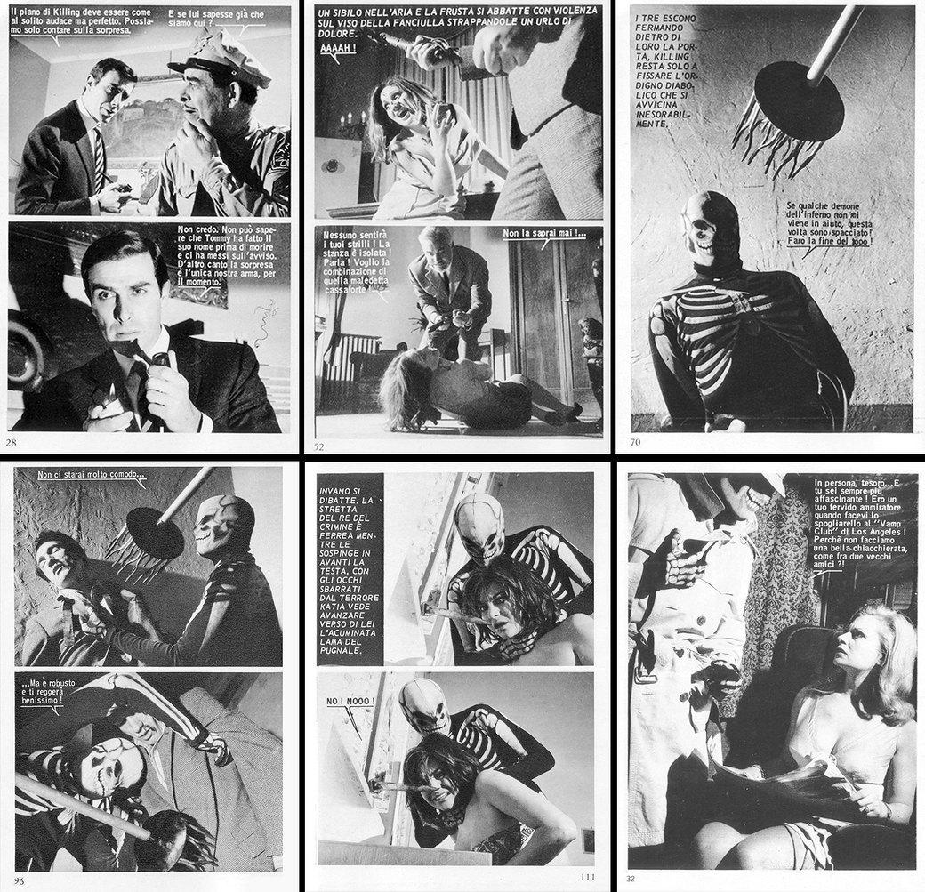«Киллинг»: История самых знаменитых фотокомиксов 1960-х. Изображение № 4.