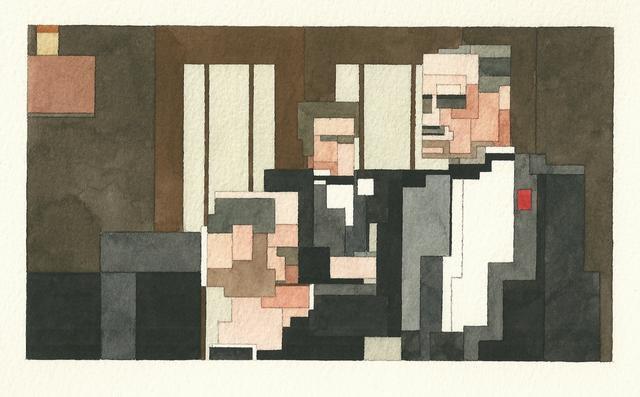 Адам Листер: Иконы поп-культуры в 8-битной живописи. Изображение № 4.
