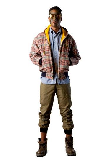 Марка Billionaire Boys Club опубликовала лукбук осенней коллекции одежды своей линейки Bee Line. Изображение № 14.