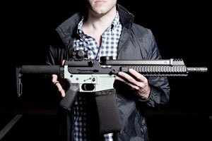 Американская компания представила первый в мире пистолет, распечатанный на 3D-принтере. Изображение № 1.