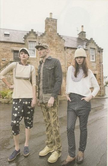 Японская марка Kapital выпустила лукбук весенней коллекции одежды. Изображение № 3.