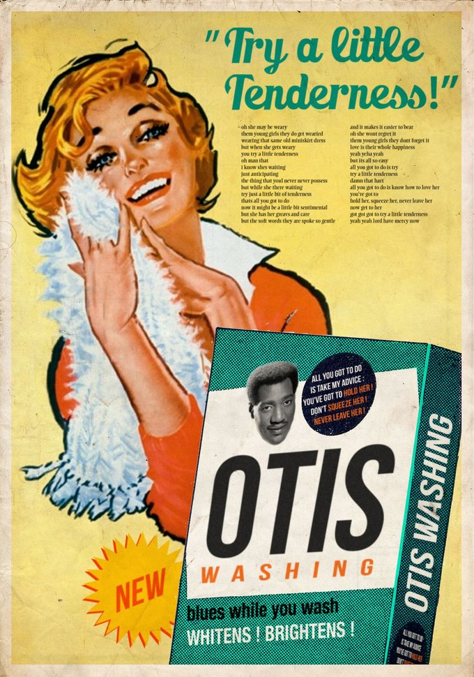 Ads Libitum: Звезды поп-культуры на винтажных рекламных плакатах. Изображение № 6.