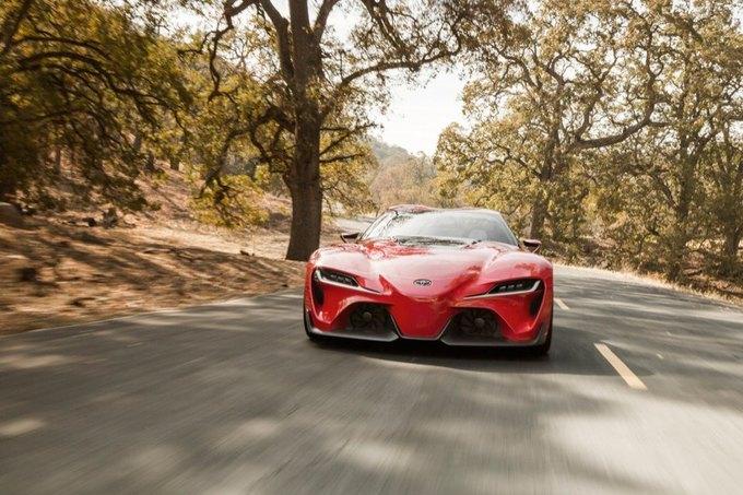 Toyota представила концепт спорткара FT-1. Изображение № 1.