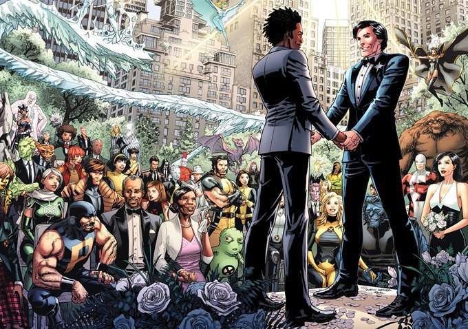 Как издатели меняли пол, цвет кожи и ориентацию супергероев. Изображение № 10.