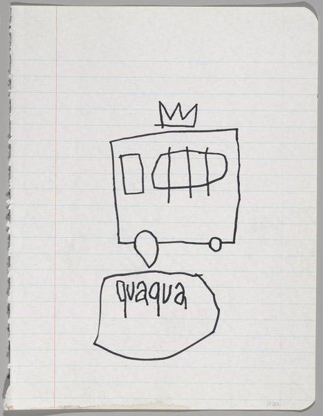 В музее Бруклина выставили скетчбуки Баския. Изображение № 4.