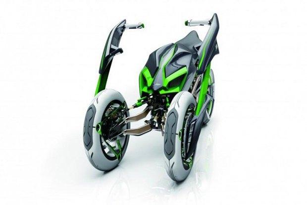 Kawasaki представили новый мотоцикл-трансформер. Изображение № 6.