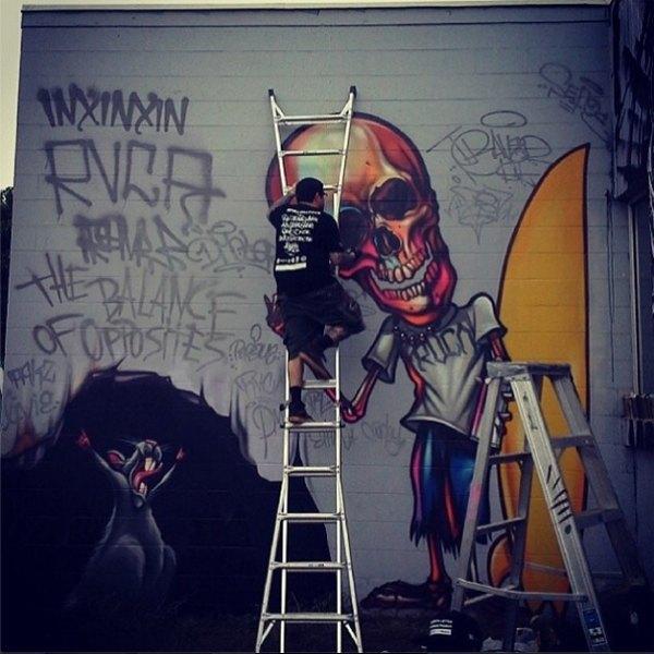 Гавайский фестиваль граффити Pow! Wow! в Instagram-фотографиях участников. Изображение № 14.