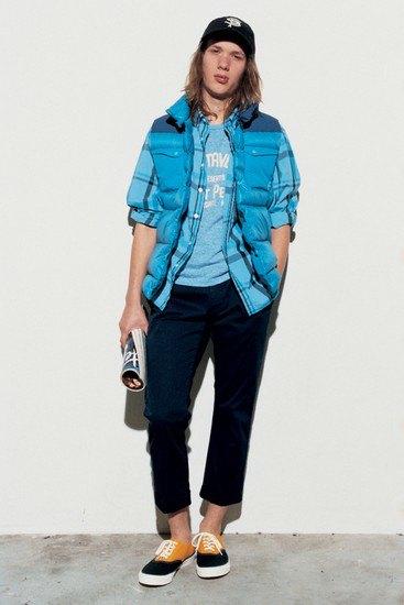 Марка Sophnet опубликовала лукбук весенней коллекции одежды. Изображение № 15.