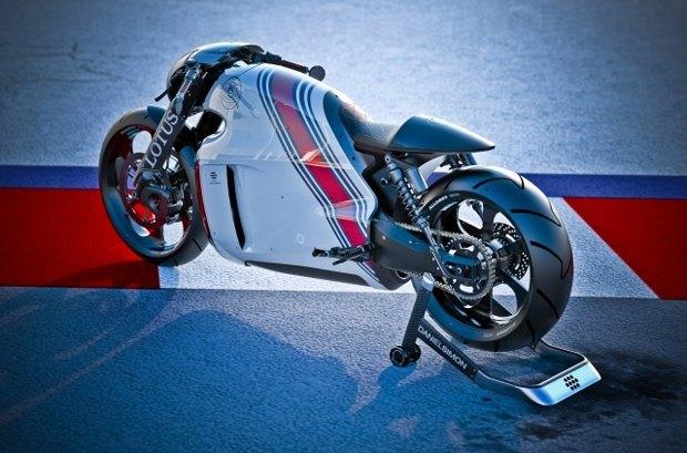 Компания Lotus раскрыла спецификации своего первого спортивного мотоцикла C-01. Изображение № 2.