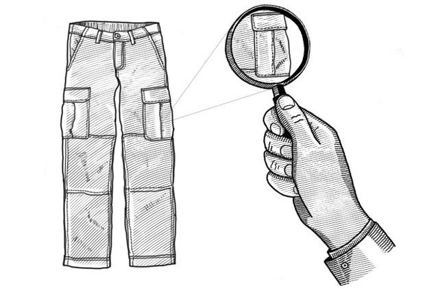 Внимание к деталям: Как появились боковые карманы на брюках карго. Изображение № 2.