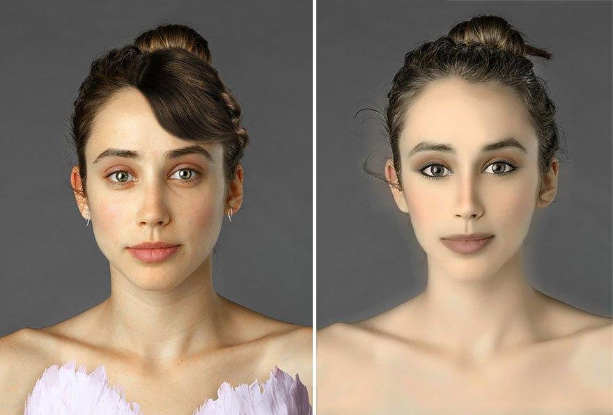 Как отличаются стандарты женской красоты в разных странах . Изображение № 4.