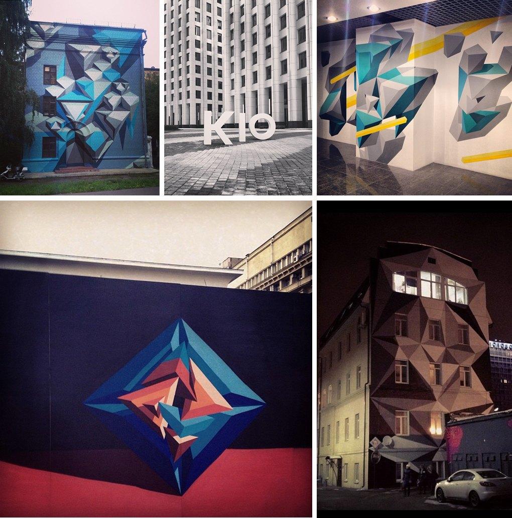 Что публикуют в своих Instagram российские граффити-художники. Часть первая. Изображение № 2.