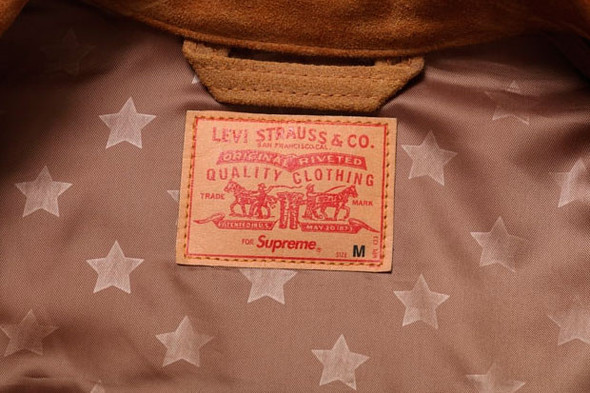 Совместная коллекция марок Supreme и Levi's. Изображение № 4.