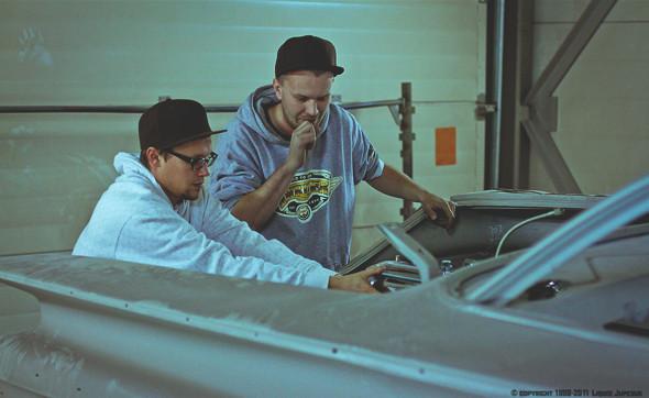 «С искрами из-под днища»: Интервью с создателем питерской мастерской Long Island Customs. Изображение № 6.
