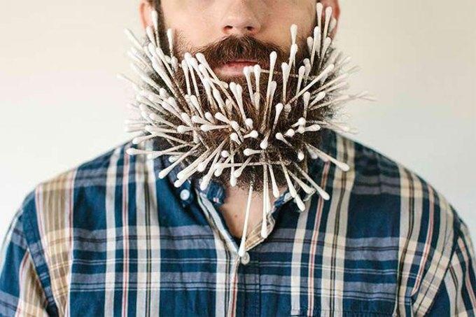 Американец научил свою бороду держать предметы. Изображение № 4.
