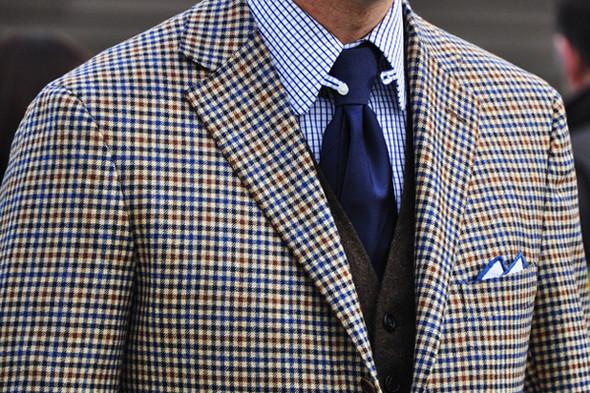 Изображение 67. Шарфы, клатчи, клетчатые пиджаки и подвернутые джинсы.. Изображение № 27.