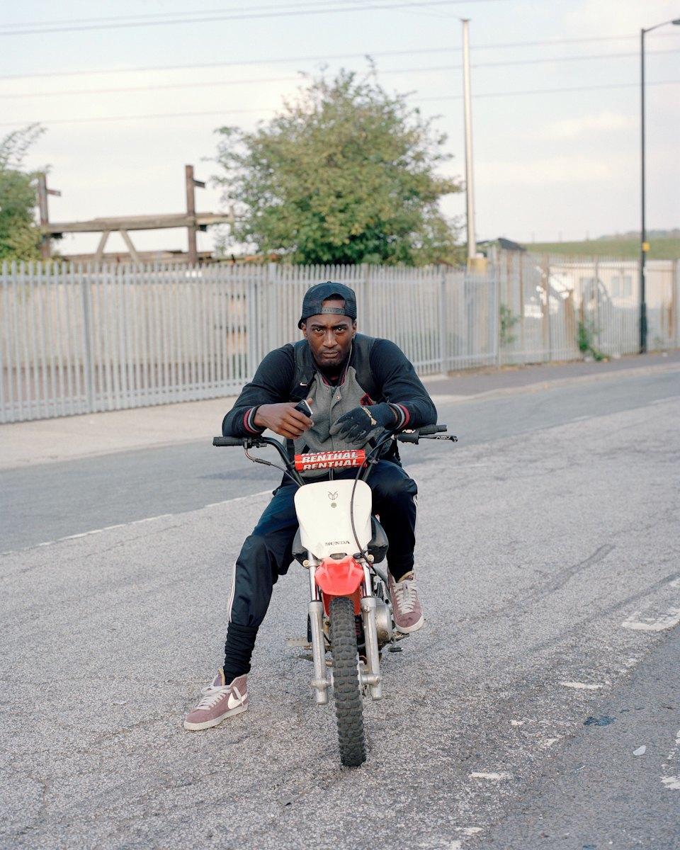 Фотопроект: Лондонские гопники и их мотоциклы. Изображение № 15.