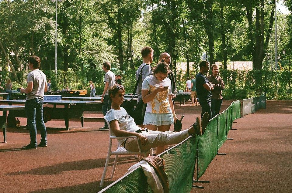 Фоторепортаж: Женский турнир по пинг-понгу в Нескучном саду. Изображение № 2.