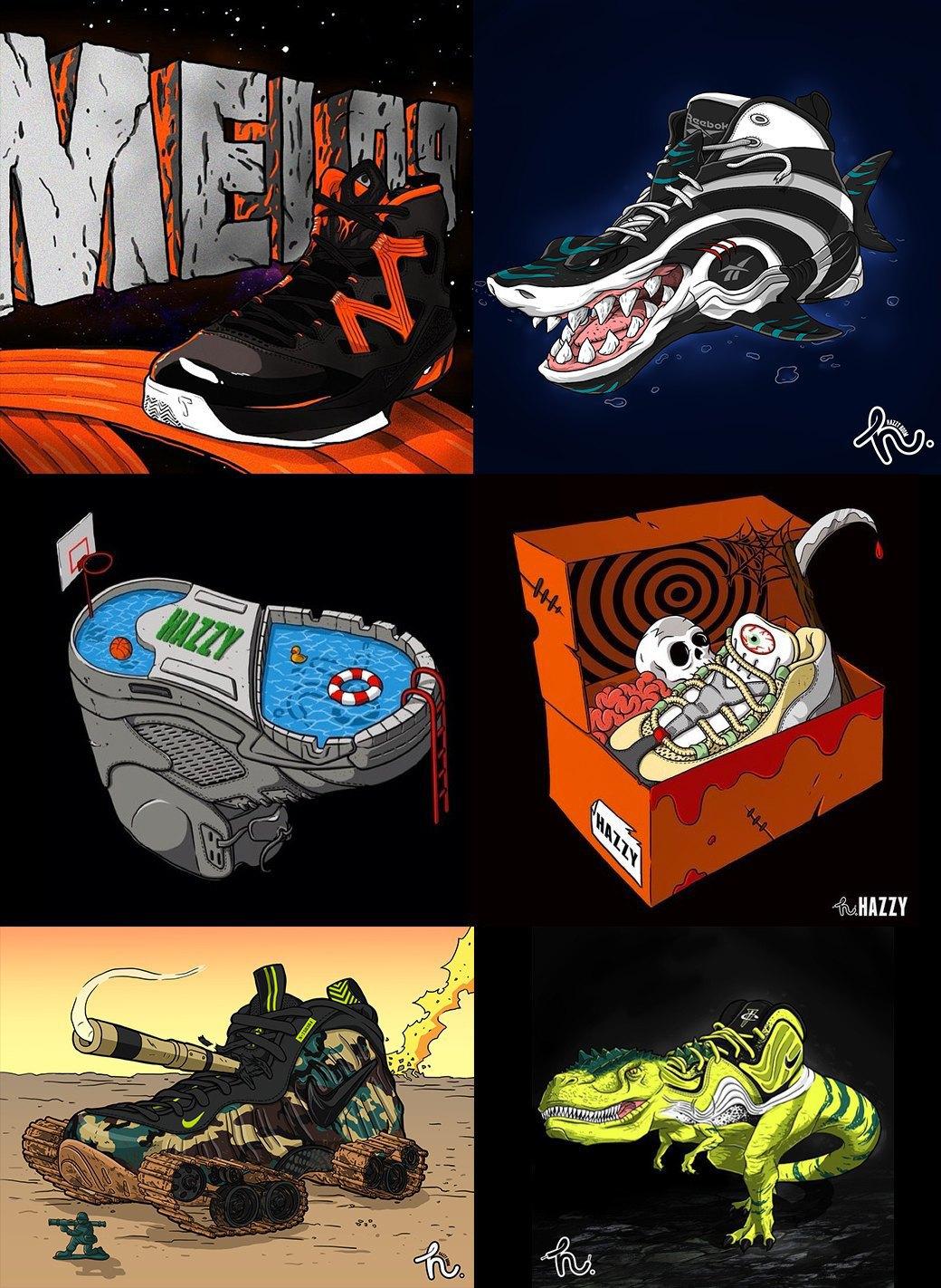 Как кроссовки становятся объектом искусства . Изображение № 2.