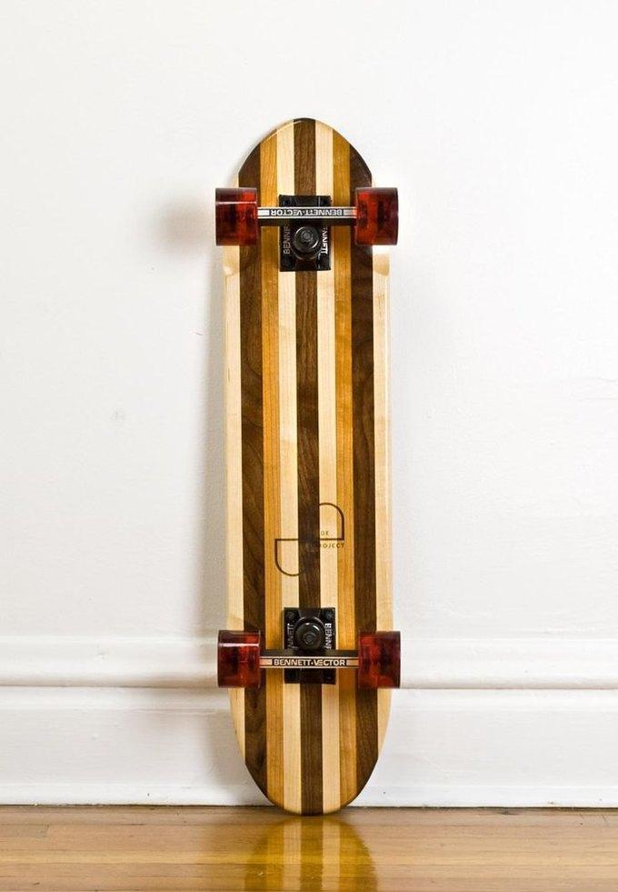 Дизайнер Джейк Эшелман выпустил коллекцию скейтбордов ручной работы. Изображение № 10.