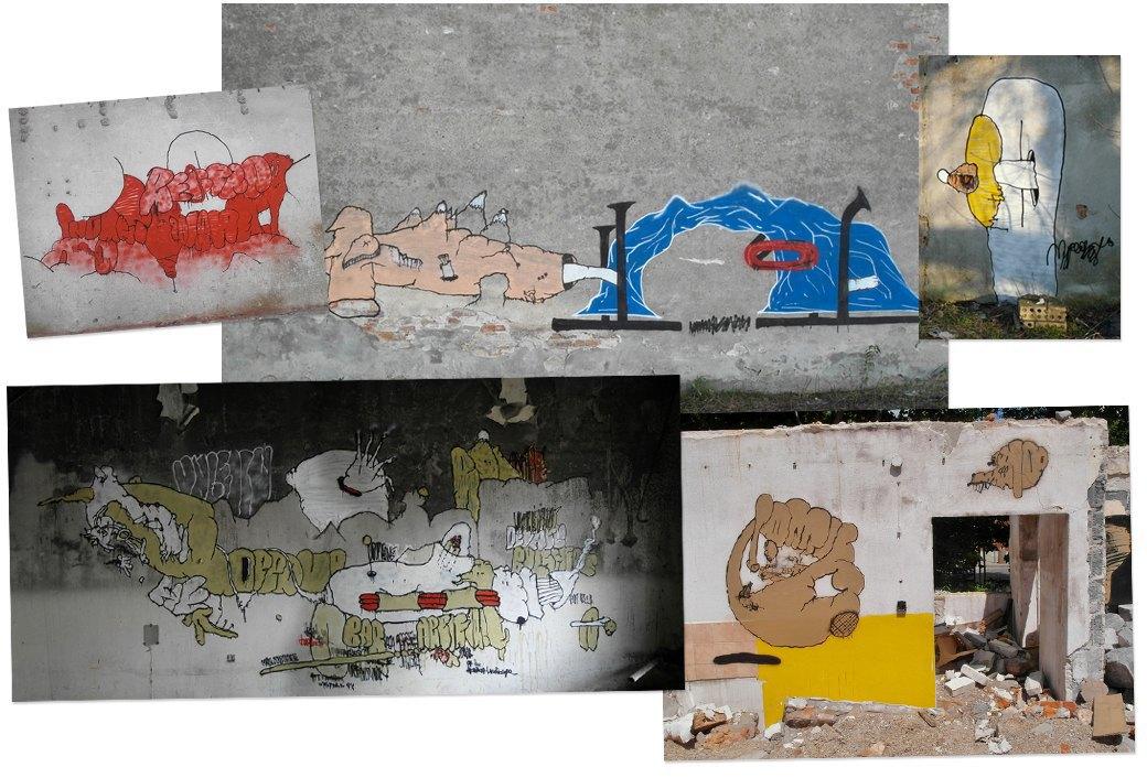 Банда аутсайдеров: Как уличные художники возвращают искусству граффити дух протеста, часть 2. Изображение № 1.