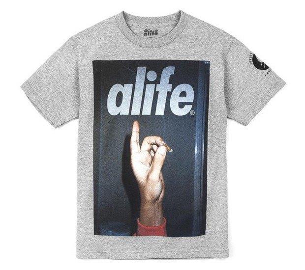 Американская марка Alife представила весеннюю коллекцию футболок. Изображение № 3.