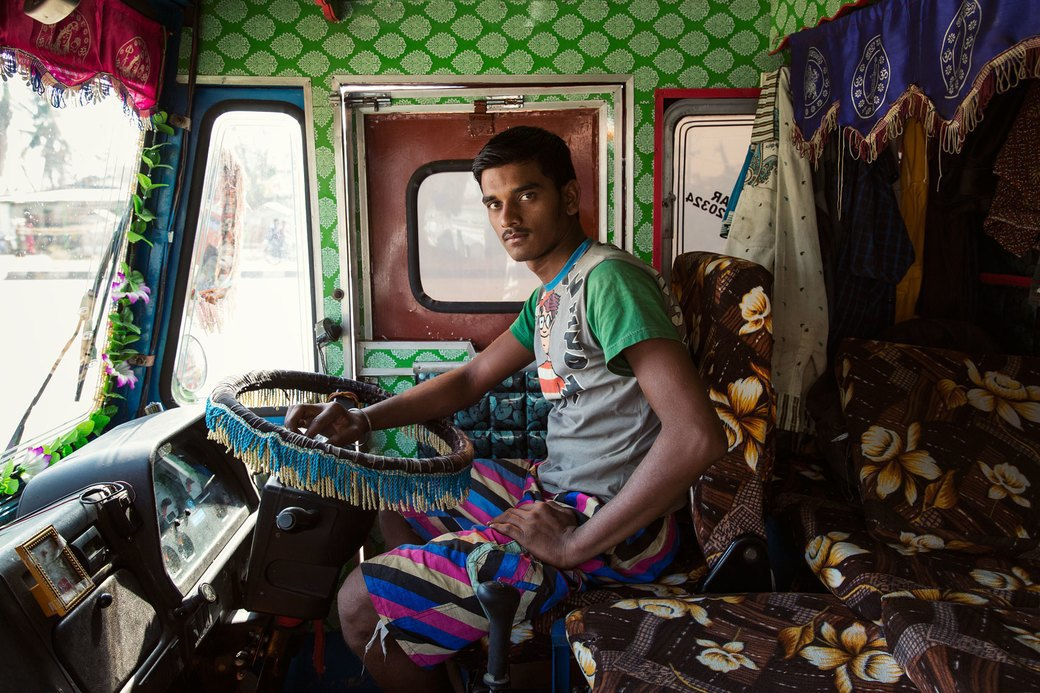 Я и друг мой грузовик: Индийские дальнобойщики и их автомобили. Изображение № 1.