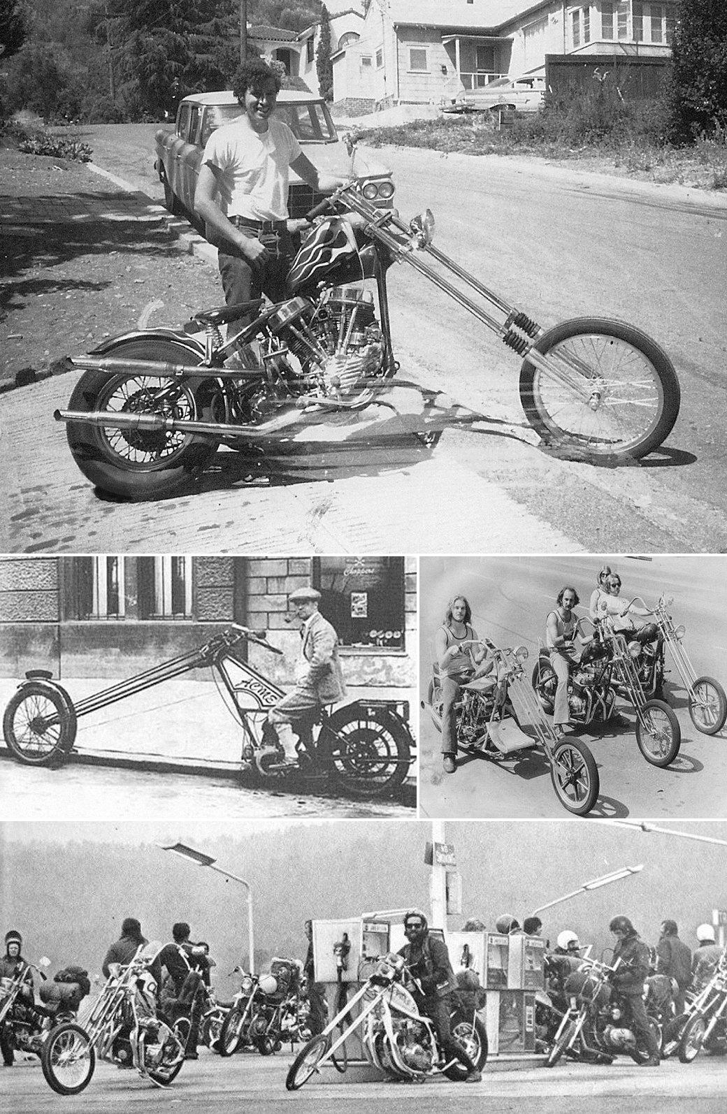 Все, что нужно знать о чопперах — мотоциклах с американским духом свободы. Изображение №1.
