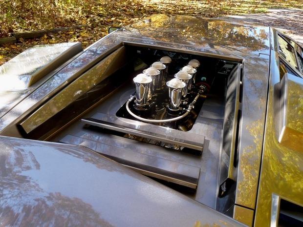 Американец за 17 лет собрал у себя в подвале реплику Lamborghini Countach. Изображение № 4.