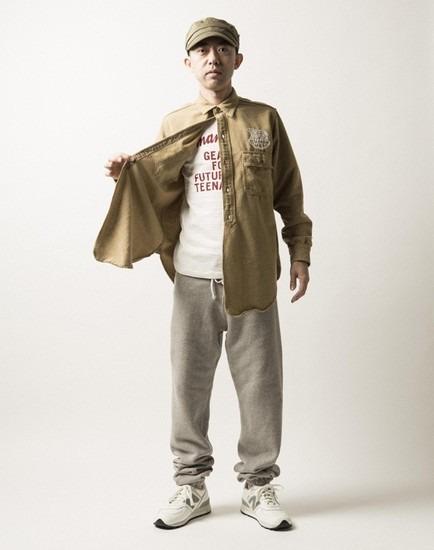 Японская марка Human Made опубликовала лукбук осенней коллекции одежды. Изображение № 1.