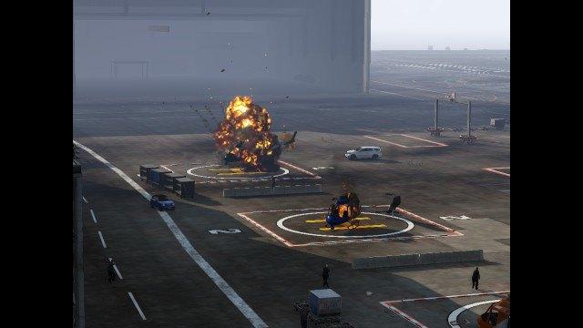 Агентство Media Lense: Фоторепортажи из горячих точек и бандитских районов в GTA V Online. Изображение № 22.