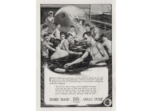 Реклама мыла 1910 год. Изображение № 23.