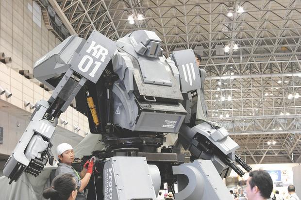 В Японии произвели четырехметрового боевого робота. Изображение № 2.