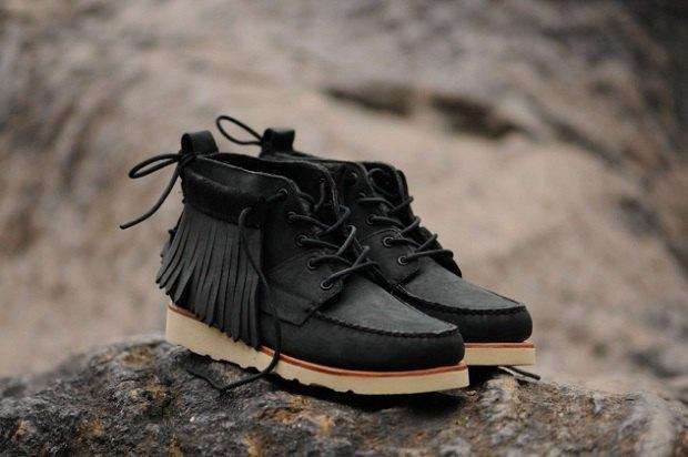Марка Sebago и дизайнер Ронни Фиг выпустили совместную коллекцию обуви. Изображение № 1.