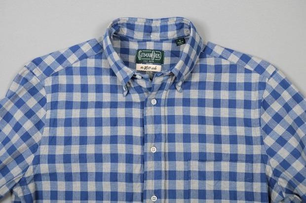 Марка Gitman Bros. представила новую коллекцию рубашек своей линейки Holiday. Изображение № 7.