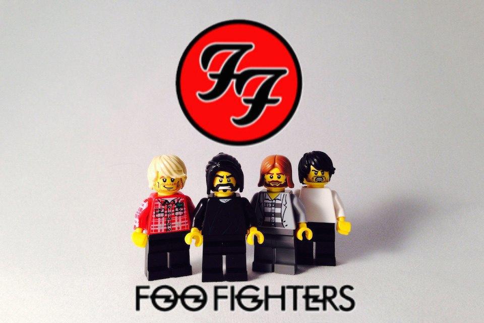 Lego-go: Культовые группы в виде фигурок из конструктора LEGO. Изображение № 5.