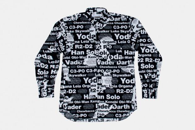 Марка Comme des Garcons Shirt выпустила коллекцию одежды по мотивам фильма «Звездные войны». Изображение № 6.