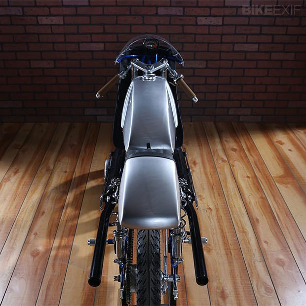 Мастерская Air-Tech Streamlining собрала новый мотоцикл на базе Suzuki Stinger. Изображение № 6.