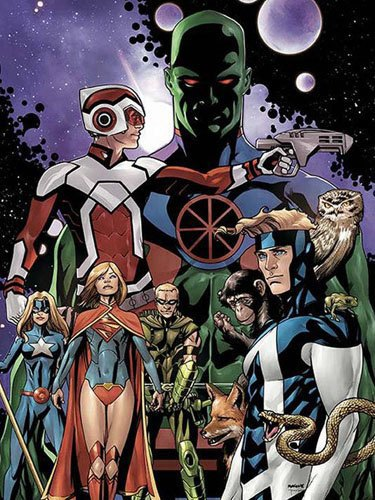 Студия DC Comics запустит новую линейку комиксов Justice League United. Изображение № 1.