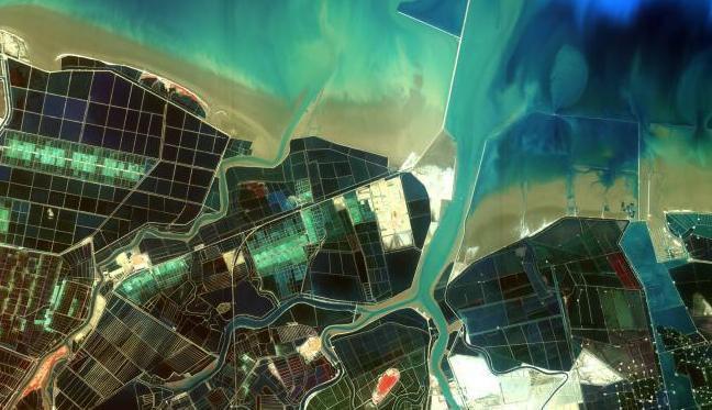 Китайский спутник обнаружил крупнейшую плантацию конопли. Изображение № 1.