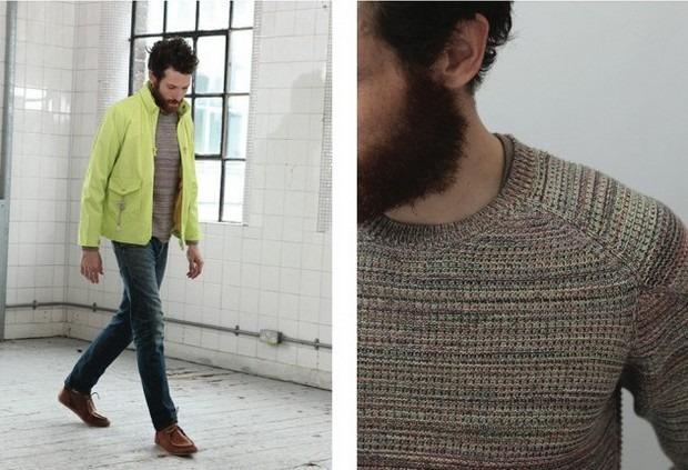 Шотландская марка Folk опубликовала лукбук весенней коллекции одежды. Изображение № 11.