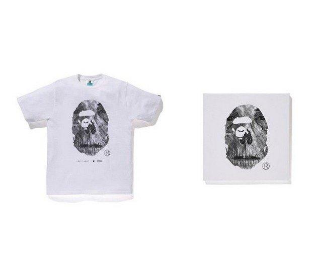 A Bathing Ape представили совместную коллекцию с Канье Уэстом и Фарреллом Уильямсом. Изображение № 19.