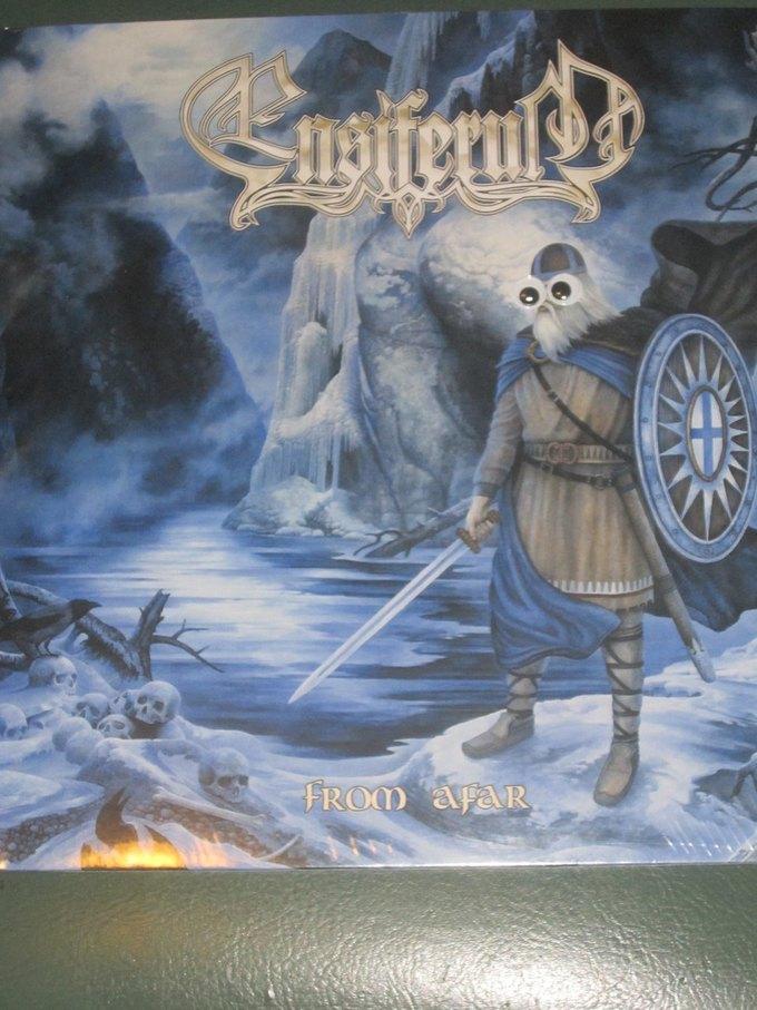 Metal Albums with Googly Eyes: Блог смешного кастомайзинга альбомов тяжёлой музыки. Изображение № 7.