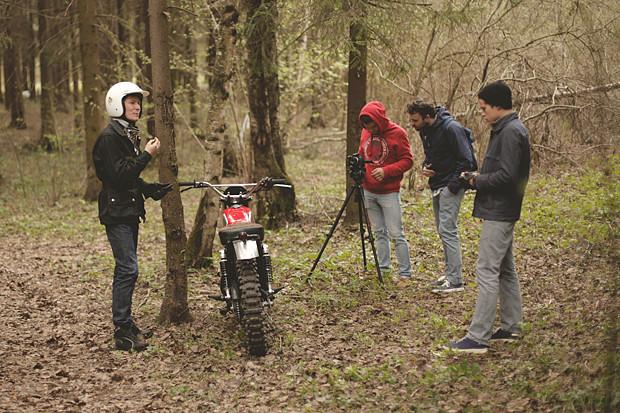 Репортаж со съемок тест-драйва мотоцикла Kawarna. Изображение № 23.