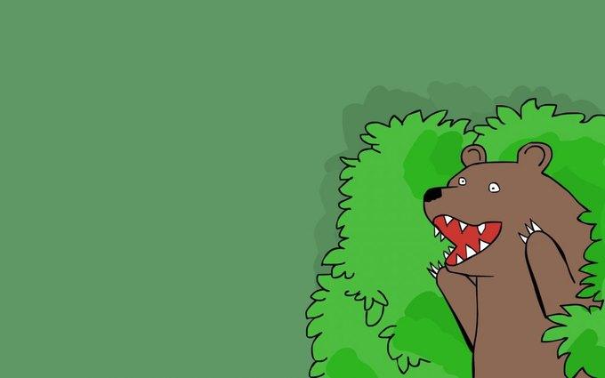 Польские учёные изучили гомосексуальную медвежью пару из Хорватии. Изображение № 1.